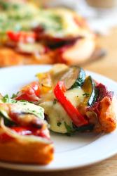 夏野菜のピッツア 250