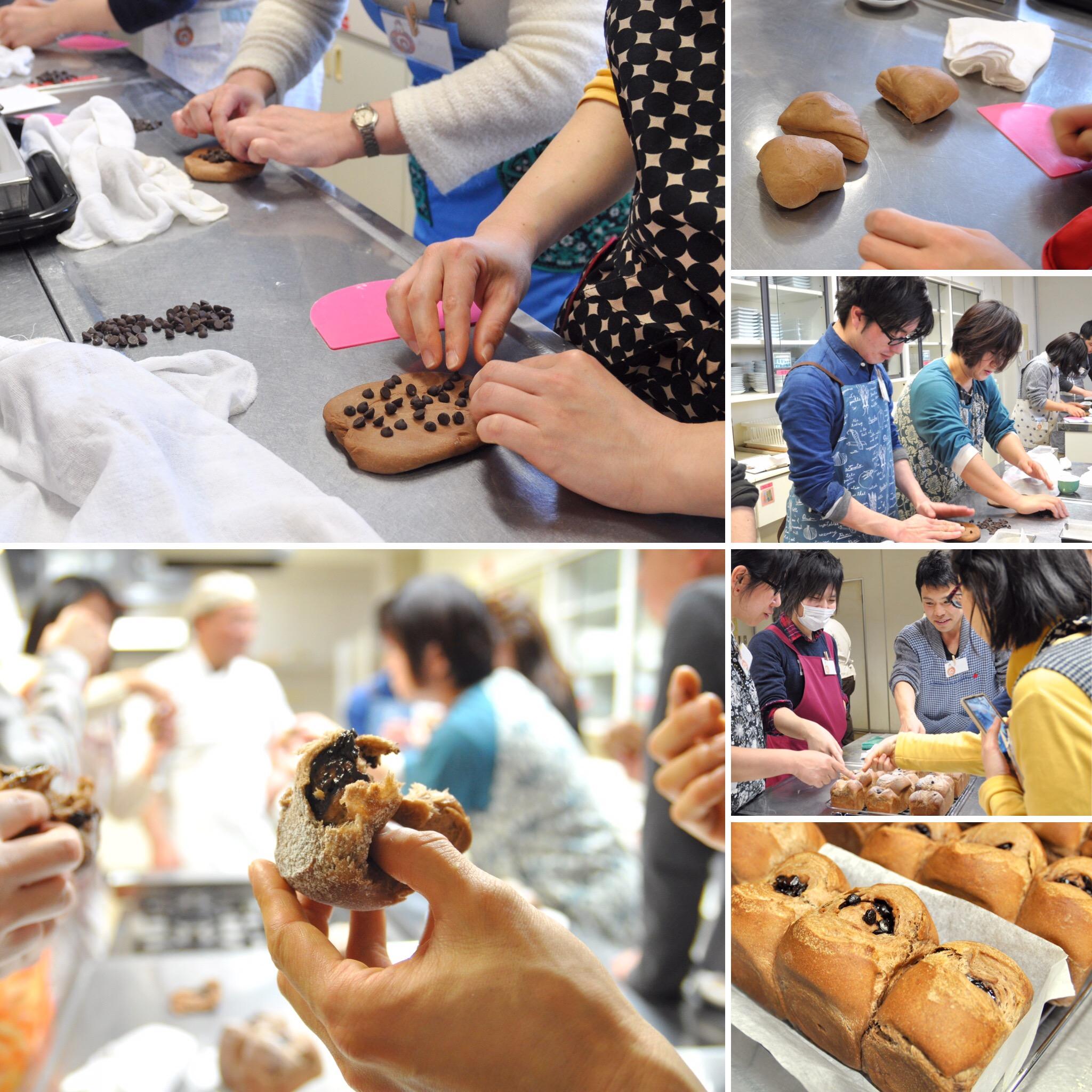 ダブルショコラローフ.手作りパン.江戸川区.オフ会