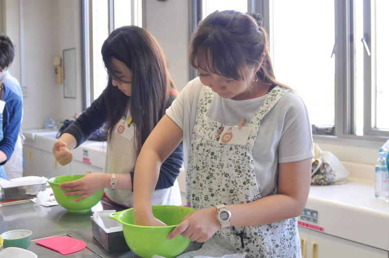 キノコバターのガレット.江戸川区.手作りパン.パン教室