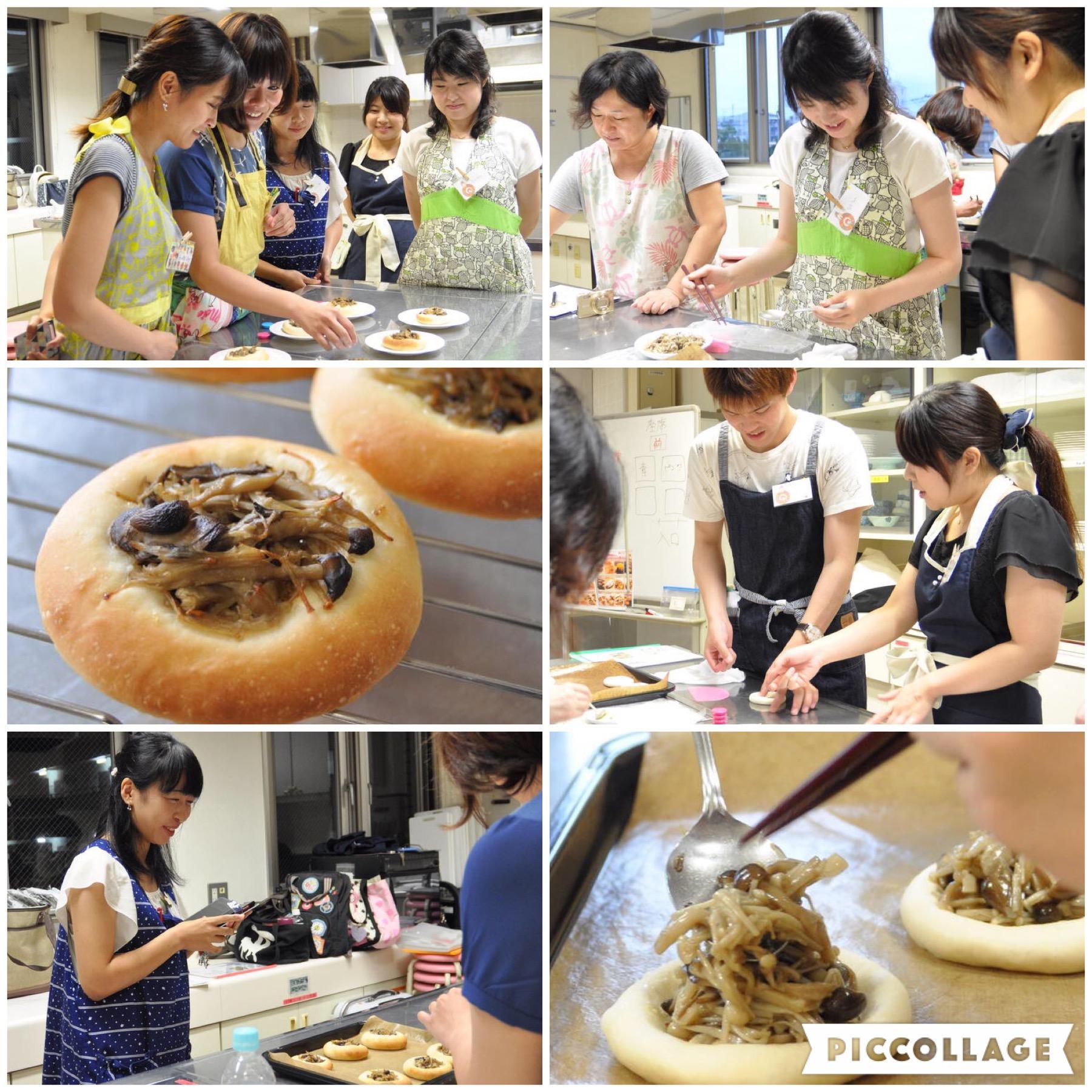 社会人サークル.オフ会.パン作り.料理オフ会.江戸川区.キノコバターのガレット